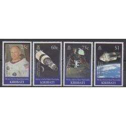 Kiribati - 1999 - Nb 430/433 - Space