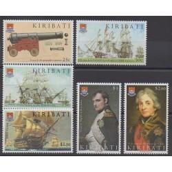 Kiribati - 2005 - No 559/564 - Napoléon - Histoire - Navigation