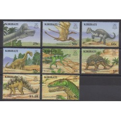 Kiribati - 2006 - Nb 615/622 - Prehistoric animals
