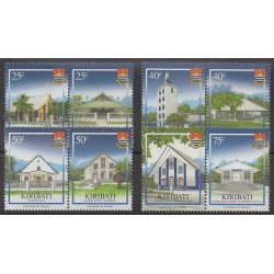 Kiribati - 2008 - No 677/684 - Églises