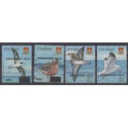 Kiribati - 2015 - No 752/755 - Oiseaux