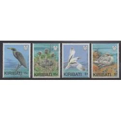 Kiribati - 1989 - No 195/198 - Oiseaux