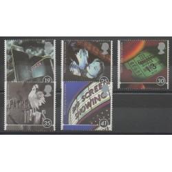 Grande-Bretagne - 1996 - No 1866/1870 - Cinéma