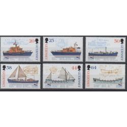 Guernesey - 1999 - No 812/817 - Bateaux