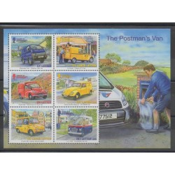 Guernesey - 2013 - No F1427 - Service postal - Voitures - Europa