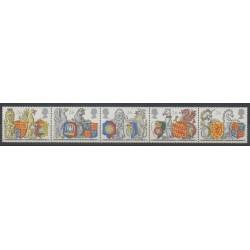 Grande-Bretagne - 1998 - No 2022/2026 - Armoiries