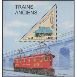Timbres - Thème trains - Cambodge - 1998 - No BF 136