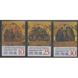 Chypre - 1998 - No 926/928 - Noël