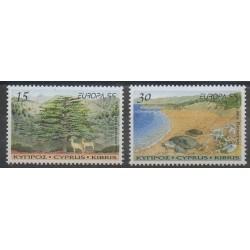 Chypre - 1999 - No 934/935 - Reptiles - Europa