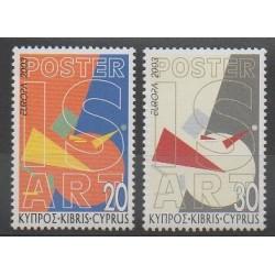 Chypre - 2003 - No 1021/1022 - Europa