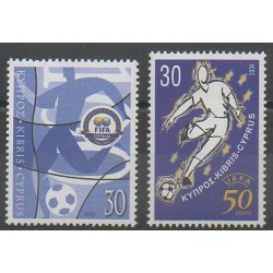 Chypre - 2004 - No 1039/1040 - Football