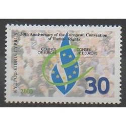 Chypre - 2000 - No 972 - Droits de l'Homme