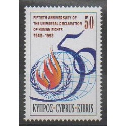Cyprus - 1998 - Nb 925 - Human Rights