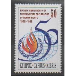 Chypre - 1998 - No 925 - Droits de l'Homme