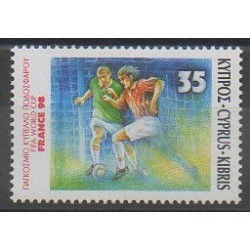Chypre - 1998 - No 918 - Coupe du monde de football