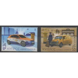 Chypre - 2013 - No 1263/1264 - Service postal - Voitures - Europa