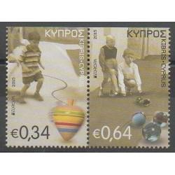 Chypre - 2015 - No 1332a/1333a - Enfance - Europa