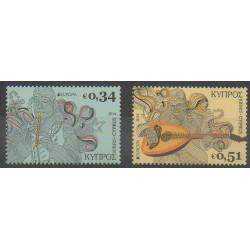 Chypre - 2014 - No 1585/1586 - Musique - Europa