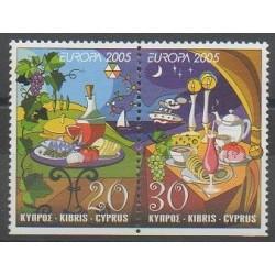 Cyprus - 2005 - Nb 1066/1067 - Gastronomy - Europa