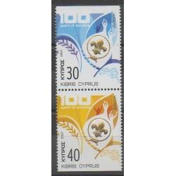 Chypre - 2007 - No 1109a/1110a - Scoutisme - Europa