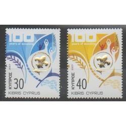 Chypre - 2007 - No 1109/1110 - Scoutisme - Europa