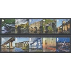 Grande-Bretagne - 2015 - No 4117/4126 - Ponts