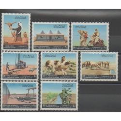 Jordanie - 1972 - No 719/726 - Neuf avec charnière