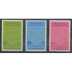 Jordanie - 1974 - No 800/802 - Service postal