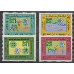Jordan - 1984 - Nb 1138/1141 - Summer Olympics