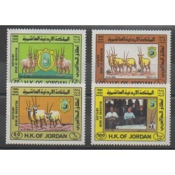 Jordanie - 1984 - No 1149/1152 - Espèces menacées - WWF