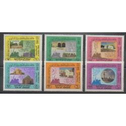 Jordanie - 1984 - No 1156/1161 - Monuments