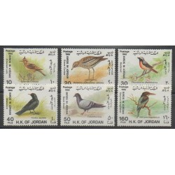 Jordan - 1988 - Nb 1250/1255 - Birds