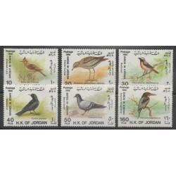 Jordanie - 1988 - No 1250/1255 - Oiseaux