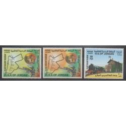 Jordanie - 1999 - No 1502/1504 - Chemins de fer