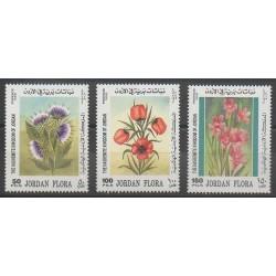 Jordanie - 1998 - No 1473/1475 - Fleurs