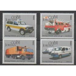 Jordanie - 2006 - No 1680/1683 - Transports - Pompiers