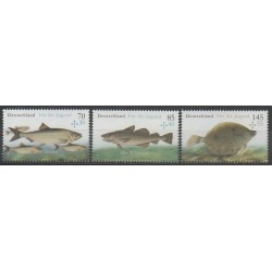 Allemagne - 2016 - No 3051/3053 - Animaux marins