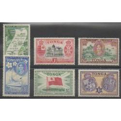 Tonga - 1951 - No 94/99