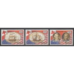 Tonga - 1988 - Nb 708/710 - Christophe Colomb