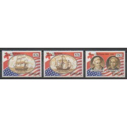 Tonga - 1988 - No 708/710 - Christophe Colomb