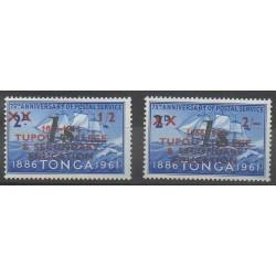 Tonga - 1969 - No 220/221 - Service postal