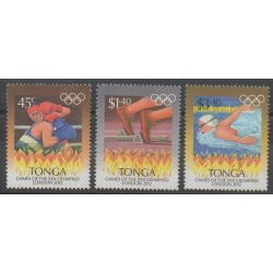 Tonga - 2012 - No 1294/1296 - Jeux Olympiques d'été