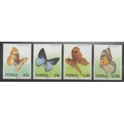 Tonga - 1989 - No 729/732 - Insectes