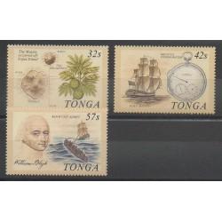 Tonga - 1989 - Nb 748/750 - Boats