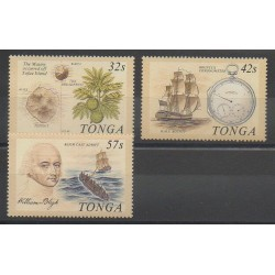 Tonga - 1989 - No 748/750 - Navigation