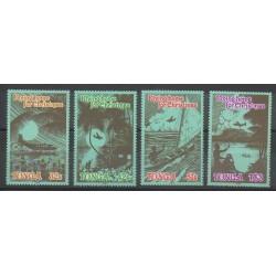 Tonga - 1989 - No 755/758 - Noël