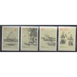 Tonga - 2003 - Nb 1223/1226 - Boats