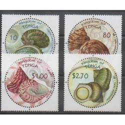 Tonga - 2001 - Nb 1194/1197 - Sea animals