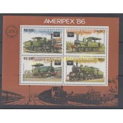 Trinité et Tobago - 1986 - No BF 39 - Trains
