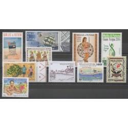 Wallis and Futuna - Complete year - 2016 - Nb 847/863